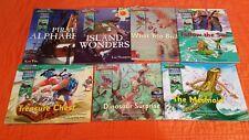 Storylands Pirate Cove & Lost Island Books (Lot 7) Follow the Sun, Mermaid