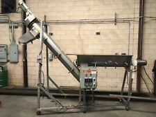 Bartelt Dual Servo Auger Conveyorpowder Blender Stainless Steel Two Hp Motors