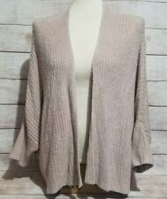 Barefoot Dreams Women's CozyChic Lite Ribbed Shrug Cardi Size 2X Faded Rose