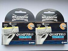16x Wilkinson Quattro Titanium Precision Rasierklingen neu/OVP