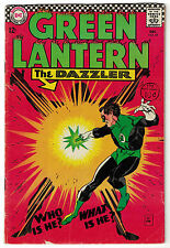 DC Comics GREEN LANTERN Issue 49 The Dazzler Who Is He? What Is He? VG/VGF 4.0