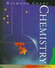 Chemistry, Chang, Raymond,007011644X, Book, Good