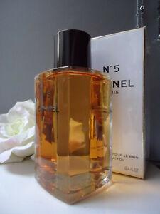 CHANEL No5 Intense Bath Oil 250ml Huge Discontinued Rare Glass Bottle Sealed Box