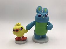 Disney Store Exclusive Toy Story 4 Ducky and Bunny Figures