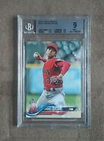 2018 Topps Update Shohei Ohtani RC Rookie Card #US1 BGS Graded 9 Mint