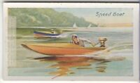 Outboard Motor Speed Racing Boat 85+ Y/O Trade Ad Card