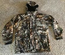 Field & Stream RealTree Camo Hooded Insulated Waterproof Coat Men's Size Medium