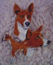 Basenji Dog Breed Embroidered Dog Animal Iron On Patch