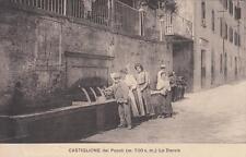 A2916) CASTIGLIONE DEI PEPOLI (BOLOGNA), LE DOCCIE. VIAGGIATA.