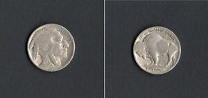 United States - 5 cents Tipo Indian Bison 1920