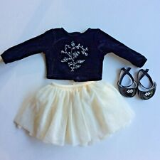 American Girl Doll Winter Magic Outfit Top Skirt and Shoes