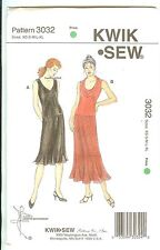 Kwik Sew 3032 Pullover Tops & Skirts For Stretch Knit ONLY Misses XS-XL Sealed