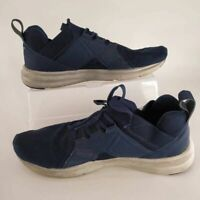 Puma Mens Enzo Geo Running Shoes Navy 192594-01 Lace Up Low Top Sneakers 14 M