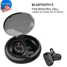 Us Bluetooth Wireless Earphones Earbud Stereo Headphones Ipx7 For iPhone Samsung