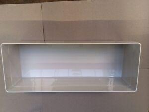 bulthaup container b3 weiß Kunststoff 470x180