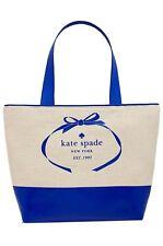 Kate Spade Heritage Logo Tote Bag nat/ Isldp