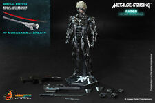 Hot Toys 1/6 VGM17 Metal Gear Rising Revengeance Raiden Action Figure Special Ed