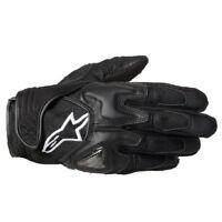 Alpinestars Scheme Aramid Fibre Motorbike Motorcycle Motorbike Gloves - Black