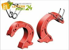 Layher Finger 42 mm Paar, rot KPL 6491418