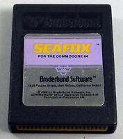 Commodore 64/128: SEAFOX - 64 Cartridge, TESTED - RARE Purple label