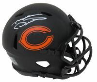 Mike Ditka Signed Chicago Bears Eclipse Matte Riddell Speed Mini Helmet - SS COA