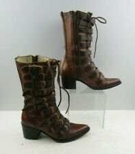 Ladies Free Bird By Steven Brown distressed Leather Boots Size : 6