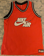 Nike Air red basketball jersey Xl 82 jordans jumpman rap hip-hop old school nyhc