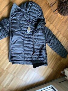 Patagonia Down Sweater Hoody Herren Daunenjacke grau Größe L *NEU!*