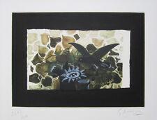 "GEORGES BRAQUE Signed 1958 Original Color Etching/Aquatint - ""Le nid vert"""