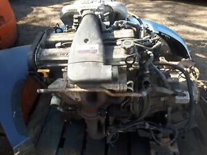 Ford Fiesta Mk3 1.6 Zetec Engine 40k Will sell any parts from it dipstick sump