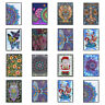 DIY Mandala Special Shaped Diamond Painting 50 Pages A5 Sketchbook Notebook Kits