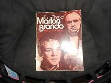 The Films of Marlon Brando, Tony Thomas, 1973 edition, Citadel Press, GD cond.