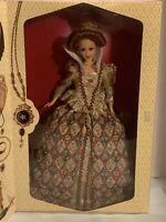 1994 Barbie The Great Eras Elizabethan Queen NIB