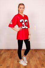 red Atlanta Falcons American football jersey # 33 TURNER NFL