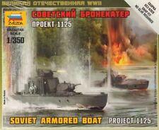 Zvezda 1/350 Soviet Armoured Boat Project 1125 # 6164