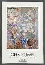 "**John Powell ""AFTERNNON LIGHT"" Flower-Hollywood Artist**Poster"