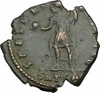 CONSTANTIUS II Constantine the Great son w globe Ancient Roman Coin i40440