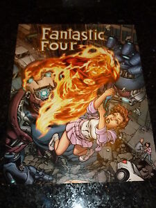 """FANTASTIC FOUR """"POSTER"""" 3 -  Size 10"""" by 13"""" from a US Marvel Comic"""