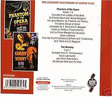 Phantom of the Opera/The Mummy-2 Original  Movie Soundtrack CD