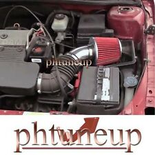 1999-2004 PONTIAC GRAND AM OLDSMOBILE ALERO 2.4 2.4L AIR INTAKE KIT SYSTEMS RED
