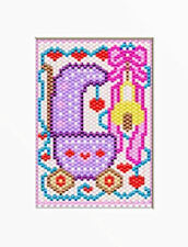 Baby Girl Welcome~Beaded Banner Pattern