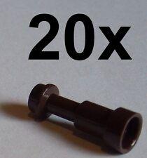 Lego 20x Fernrohr in dunkelbraun (dark brown) Fernglas Telescope 64644