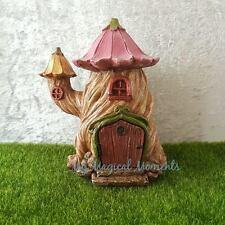 Fairy Garden Tree Stump House Free Express Postage