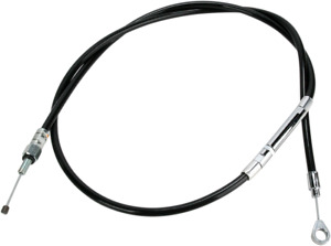 Barnett Black Vinyl Clutch Cable (+6in.) HARLEY-DAVIDSON XL1200C 101-30-10020-06
