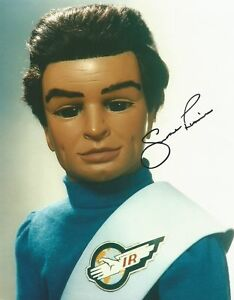 Shane Rimmer as Scott tracy Thunderbirds hand signed photo UACC Dealer