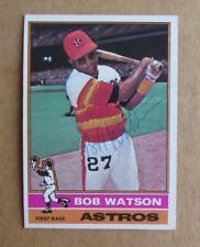 1976 TOPPS BASEBALL BOB WATSON #20 AUTOGRAPHED SIGNED CARD HOUSTON ASTROS