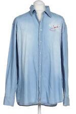 SIGNUM Hemd Herren Oberteil Business Shirt Gr. XXL Baumwolle blau #0ddd86f