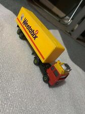 Corgi - Red & Yellow VOLVO LORRY & TRAILER - Diecast - WEETABIX Livery