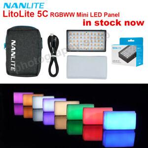 New Nanlite LitoLite 5C RGB 2700-7500K Portable Mini LED Video Light CRI + TLCI