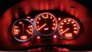 JDM 2002-2004 Subaru Impreza WRX STI Optitron 180KM Cluster Speedometer DCCD V7